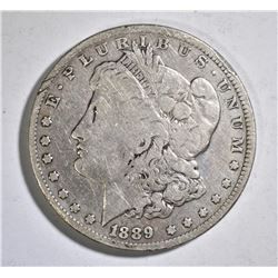 1889-CC MORGAN DOLLAR G/VG