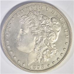 1898 GEM PROOF MORGAN DOLLAR  AU