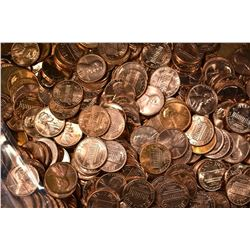 1000-1959-69 & 1000-70-79 MIXED BU LINCOLN CENTS