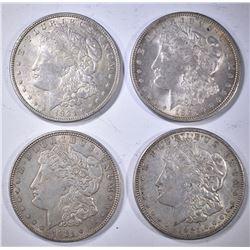 2-1921 & 2-21-D CIRC MORGAN DOLLARS