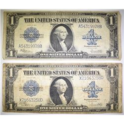 2-1923 LARGE SIZE SILVER CERTS