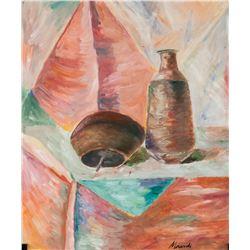 Giorgio Morandi Italian Modernist Gouache on Paper