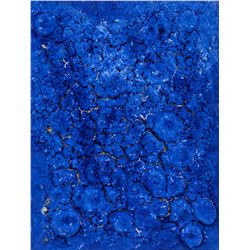 Yves Klein French Abstract Mixed Media on Canvas