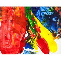Helen Frankenthaler American Abstract Oil Canvas