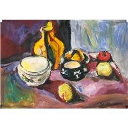 Henri Matisse French Fauvist Oil Tempera on Paper