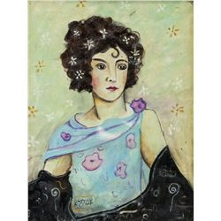 Gustav Klimt Austrian Art Nouveau Oil on Canvas