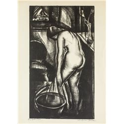 Iver Rose American Signed Litho on Paper 34/60