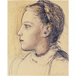 Pablo Picasso Spanish Cubist Signed Litho EA