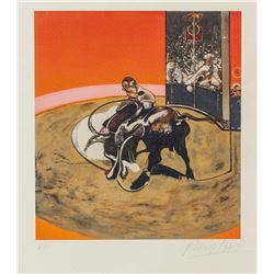 British Expressionist Signed Lithograph Paper A.P.