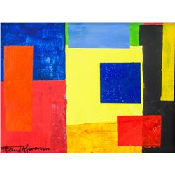 Hans Hofmann American Abstract Oil on Canvas