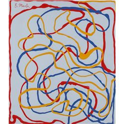 Brice Marden American Modernist Oil on Canvas