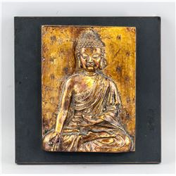 Southeast Asian Hardstone Buddha Panel