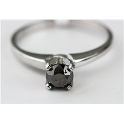 10kt Black Diamond (0.5ct) Ring