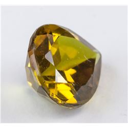 4.33 ct Yellow Green Pear Cut Alexandrite AGSL