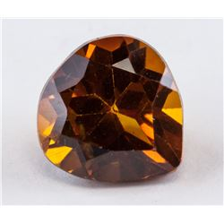 3.45 ct Orange Greenish Pear Cut Alexandrite AGSL