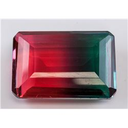 82.35 ct Multi-Color Emerald Cut Ametrine Gemstone