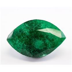 267.85 ct Green Marquise Cut Emerald Gemstone GGL