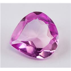 3.30 ct Pink Pear Cut Ruby Gemstones AGSL