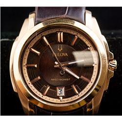 Bulova Precisionist Stainless Steel Watch