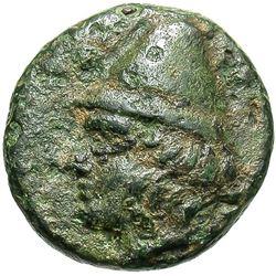 300 BC Greece Troas Birytis Bronze Coin