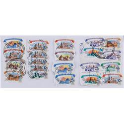 Twenty One Assorted Russian Stamps 2009 & 2017