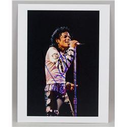 Michael Jackson Autographed Photograph JSA Letter