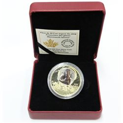 2018 $20 .9999 1oz Silver Wooly Mammoth Frozen in Ice Coin 1 troy oz with box sleeve & COA