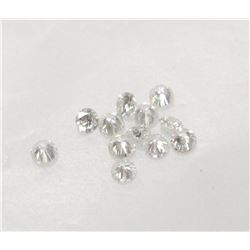 Parcel of.23 carats of 12x Round Brilliant Diamonds I1-I2 Clarity Authentic tested Diamonds