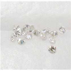 .32 carats of 15x Round Brilliant Diamonds I1-I2 Clarity Authentic tested Diamonds Parcel