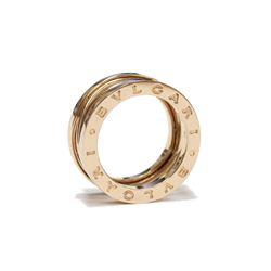 BVLGARI B Zero1 by Zaha Hadid 18K Rose Gold Spiral Band BULGARI Fine Jewelry