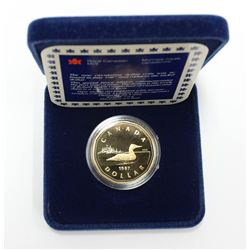 1987 First Issue Proof Loonie Coin Special Edition