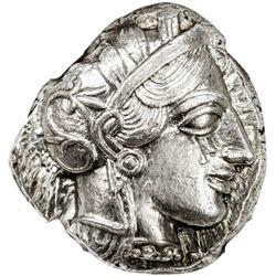 ATHENS: Anonymous, ca. 440-404 BC, AR tetradrachm (17.19g). NGC AU