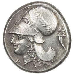 CORINTH: AR stater (8.56g), BCD Corinth-103; Pegasi-430, struck ca 345-307 BC, EF