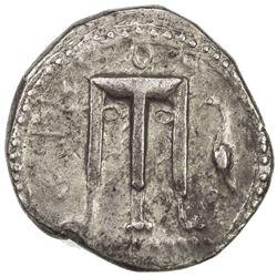 CROTON: AR nomos (7.85g), SNG ANS-272; HN Italy 2104, struck 480-430 BC, VF