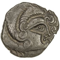 GAUL: Curiosolites, ca. 100-50 BC, BI stater (6.44g), Armorica. EF