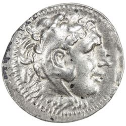 MACEDONIAN KINGDOM: Alexander III, the Great, 336-323 BC, AR tetradrachm (16.73g), Miletus. VF