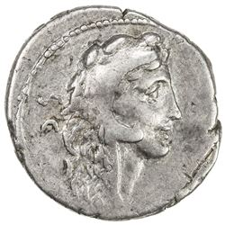 ROMAN REPUBLIC: Faustus Cornelius Sulla, AR denarius (3.22g), Rome. VF