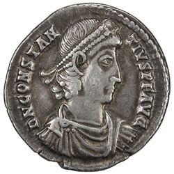 ROMAN EMPIRE: Constantius II, 337-361 AD, AE siliqua (3.17g), Sirmium. VF
