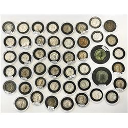 ROMAN EMPIRE:LOT of 46 coins of different types of the third century