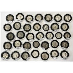 ROMAN EMPIRE: LOT of 35 silver coins of the third century