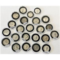 ROMAN EMPIRE: LOT of 23 higher-grade silver coins of different types of the third century