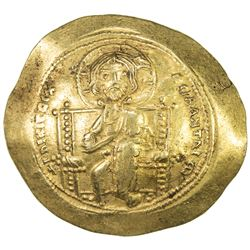 BYZANTINE EMPIRE: Constantine X Ducas, 1059-1067, AV histamenon (4.36g). EF