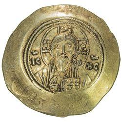 BYZANTINE EMPIRE: Michael VII Doukas, 1071-1078, AV histemenon (4.38g). VF