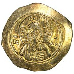 BYZANTINE EMPIRE: Michael VII Doukas, 1071-1078, AV histamenon (4.26g). VF