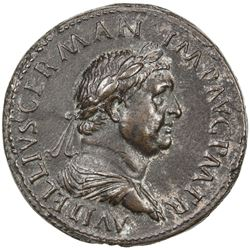 "PADUAN & LATER IMITATIONS: ROMAN EMPIRE: Vitellius, 69 AD, AE cast ""sestertius"" (23.37g). VF-EF"