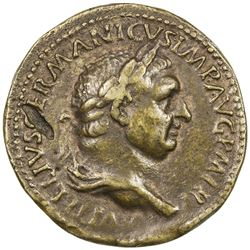 PADUAN & LATER IMITATIONS: ROMAN EMPIRE: Vitellius, 69 AD, AE cast  sestertius  (21.35g). F-VF