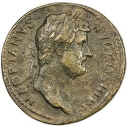"PADUAN & LATER IMITATIONS: ROMAN EMPIRE: Hadrian, 117-138 AD, AE cast ""sestertius"" (21.91g). F"