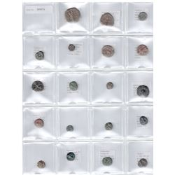 ANCIENT: LOT of 27 copper coins of the east