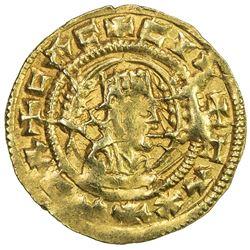 AXUM: Ebana, ca. mid 5th century, AV unit (1.59g). EF