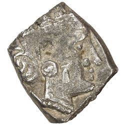 SABAEAN: Anonymous, 4th-3rd century BC, AR unit (5.29g). VF